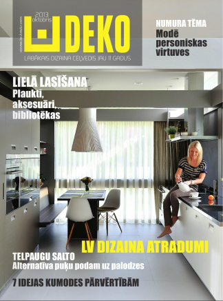 Publication for Deko magazine   cover   october 2013
